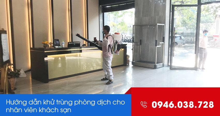 Hướng dẫn phòng dịch cho nhân viên khách sạn