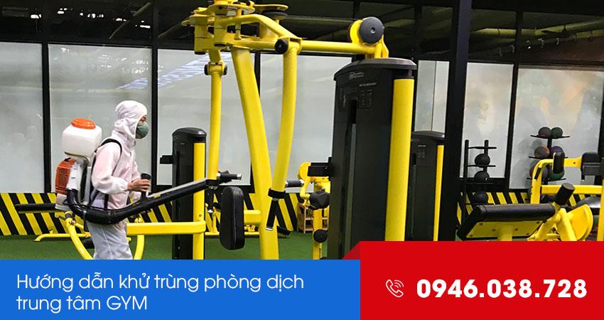 Phun khử trùng phòng dịc COVID-19 cho phòng tập GYM tại Đà Nẵng