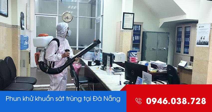 Dịch vụ phun khử khuẩn diệt trùng tại Đà Nẵng