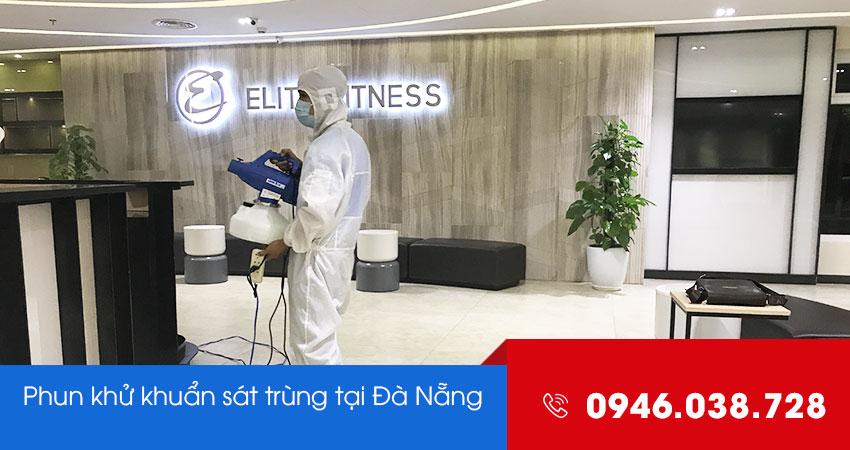 Quy trình phun thuốc khử trùng sát khuẩn tại Đà Nẵng