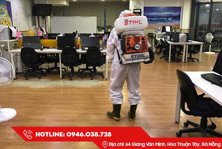 Dịch vụ khử trùng diệt khuẩn tại Đà Nẵng