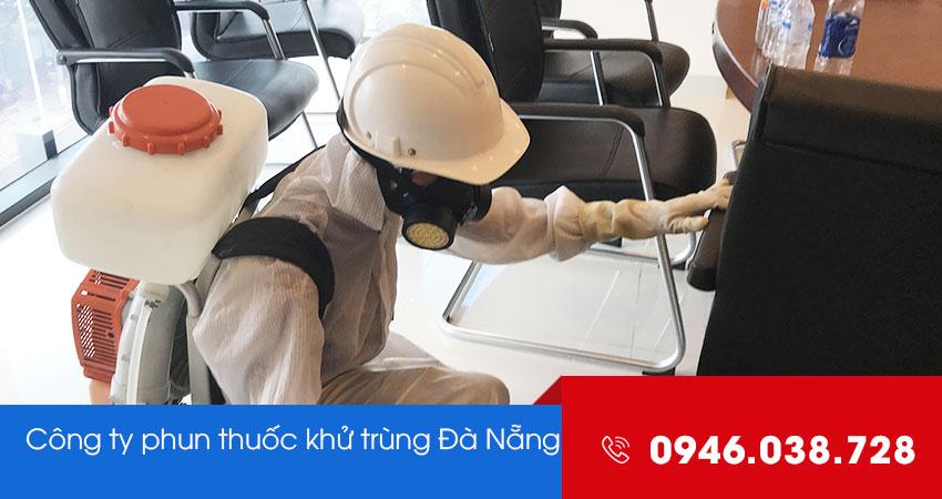 Dịch vụ phun xịt khử trùng diệt khuẩn tại Đà Nẵng
