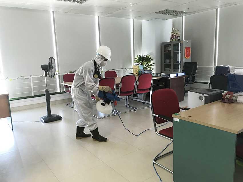 Phun diệt khuẩn tại Đà Nẵng