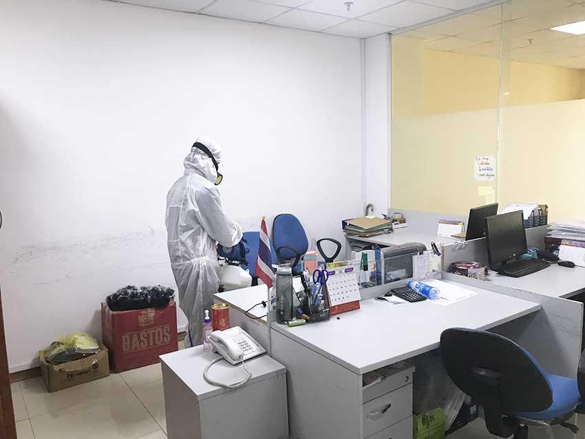 Phun khử khuẩn diệt trùng tại Đà Nẵng