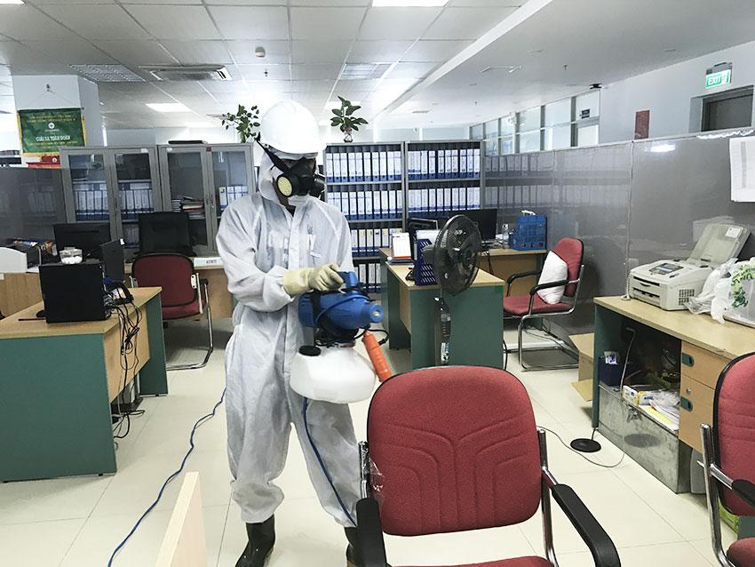 Dịch vụ phun diệt khuẩn tại Đà Nẵng