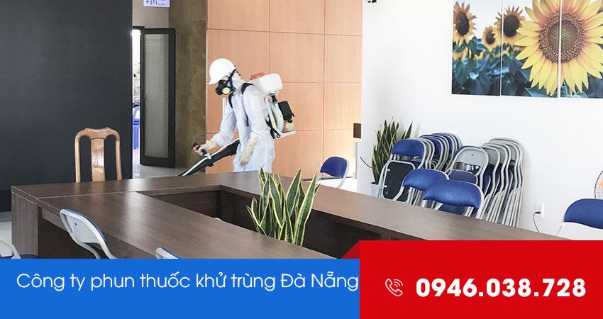 Công ty phun xịt khử trùng diệt khuẩn tại Đà Nẵng