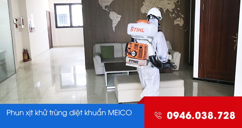 Phun xịt diệt khuẩn tại Đà Nẵng
