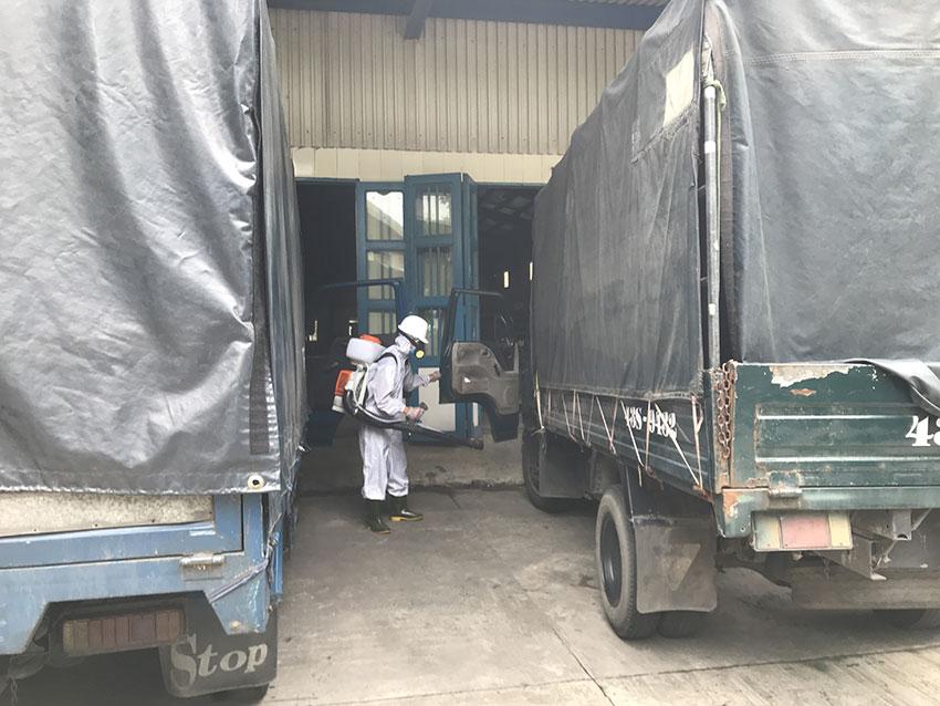 Dịch vụ phun xịt khử trùng tại nhà máy giấy Liên Chiểu Đà Nẵng 1