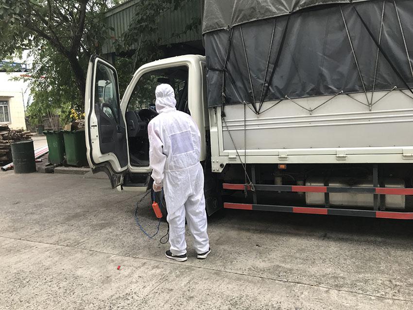 Dịch vụ phun xịt khử trùng tại nhà máy giấy Liên Chiểu Đà Nẵng
